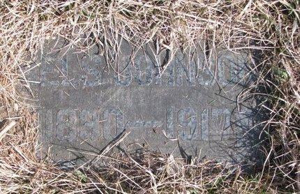 JOHNSON, NELS (FOOTSTONE) - Knox County, Nebraska   NELS (FOOTSTONE) JOHNSON - Nebraska Gravestone Photos