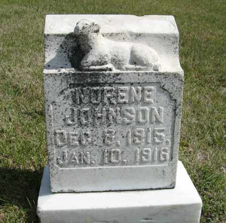 JOHNSON, NORENE - Knox County, Nebraska | NORENE JOHNSON - Nebraska Gravestone Photos
