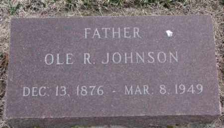 JOHNSON, OLE R. - Knox County, Nebraska | OLE R. JOHNSON - Nebraska Gravestone Photos