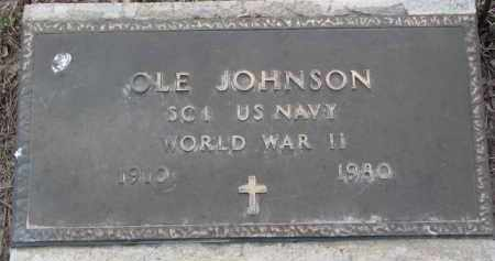 JOHNSON, OLE (WW II) - Knox County, Nebraska   OLE (WW II) JOHNSON - Nebraska Gravestone Photos