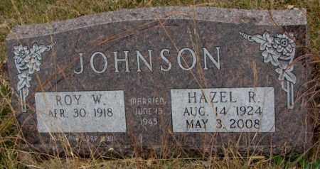 JOHNSON, HAZEL R. - Knox County, Nebraska   HAZEL R. JOHNSON - Nebraska Gravestone Photos