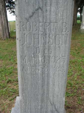 JOHNSON, ROBERT B (CLOSEUP) - Knox County, Nebraska | ROBERT B (CLOSEUP) JOHNSON - Nebraska Gravestone Photos
