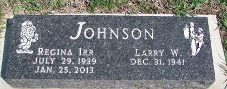 JOHNSON, REGINA - Knox County, Nebraska | REGINA JOHNSON - Nebraska Gravestone Photos