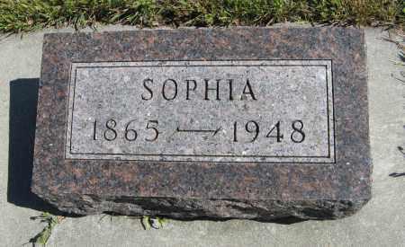 JOHNSON, SOPHIA - Knox County, Nebraska | SOPHIA JOHNSON - Nebraska Gravestone Photos