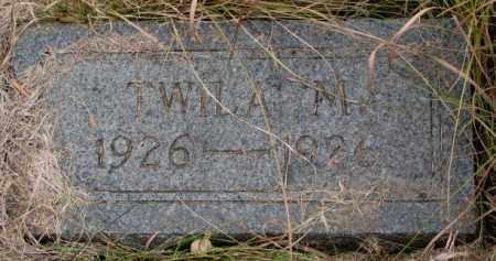 JOHNSON, TWILA M. - Knox County, Nebraska   TWILA M. JOHNSON - Nebraska Gravestone Photos