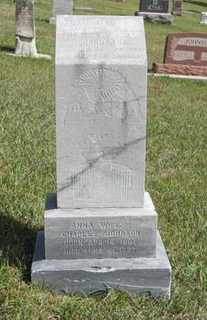 JOHNSON, TILLIE MANILA - Knox County, Nebraska   TILLIE MANILA JOHNSON - Nebraska Gravestone Photos