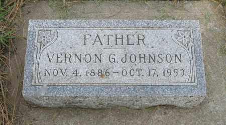 JOHNSON, VERNON G. - Knox County, Nebraska   VERNON G. JOHNSON - Nebraska Gravestone Photos