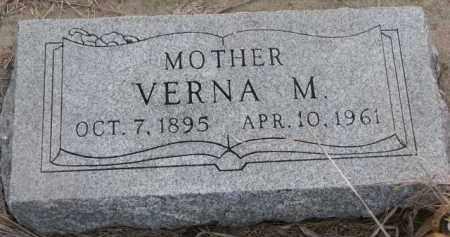 JOHNSON, VERNA M. - Knox County, Nebraska | VERNA M. JOHNSON - Nebraska Gravestone Photos