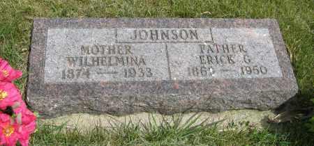 JOHNSON, WILHELMINA - Knox County, Nebraska | WILHELMINA JOHNSON - Nebraska Gravestone Photos