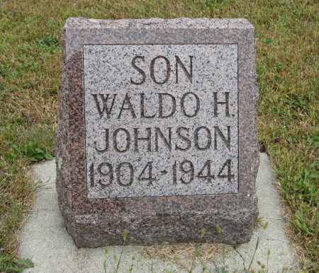 JOHNSON, WALDO H. - Knox County, Nebraska | WALDO H. JOHNSON - Nebraska Gravestone Photos