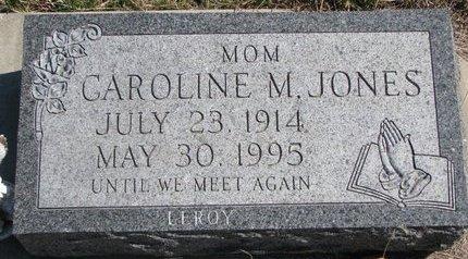 JONES, CAROLINE M. - Knox County, Nebraska | CAROLINE M. JONES - Nebraska Gravestone Photos