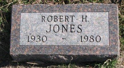 JONES, ROBERT H. - Knox County, Nebraska | ROBERT H. JONES - Nebraska Gravestone Photos