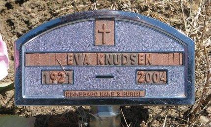 KNUDSEN, EVA - Knox County, Nebraska | EVA KNUDSEN - Nebraska Gravestone Photos