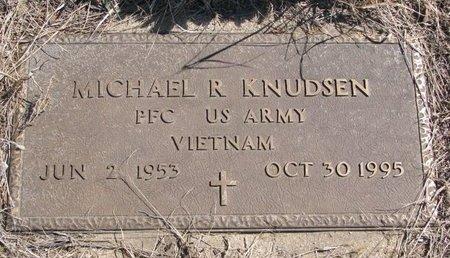 KNUDSEN, MICHAEL R. - Knox County, Nebraska | MICHAEL R. KNUDSEN - Nebraska Gravestone Photos