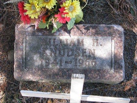 KNUDSEN, WILLIAM H. - Knox County, Nebraska | WILLIAM H. KNUDSEN - Nebraska Gravestone Photos