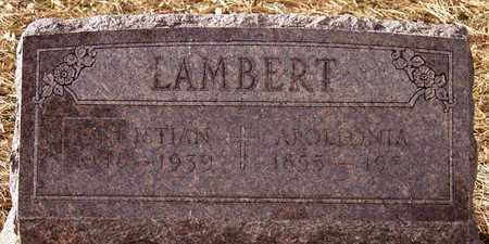 LAMBERT, CHRISTIAN - Knox County, Nebraska | CHRISTIAN LAMBERT - Nebraska Gravestone Photos