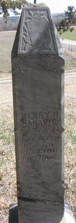 LARAVIE, PERRY H. - Knox County, Nebraska   PERRY H. LARAVIE - Nebraska Gravestone Photos