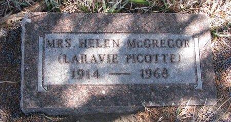 MCGREGOR, HELEN - Knox County, Nebraska | HELEN MCGREGOR - Nebraska Gravestone Photos