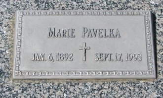 PAVELKA, MARIE - Knox County, Nebraska   MARIE PAVELKA - Nebraska Gravestone Photos