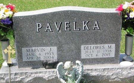 PAVELKA, MARVIN J. - Knox County, Nebraska | MARVIN J. PAVELKA - Nebraska Gravestone Photos