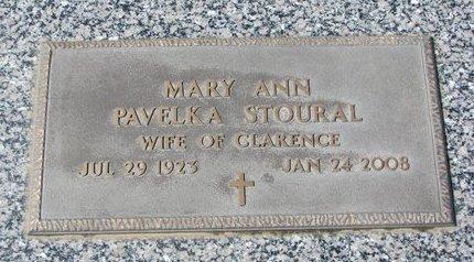 PAVELKA, MARY ANN - Knox County, Nebraska   MARY ANN PAVELKA - Nebraska Gravestone Photos