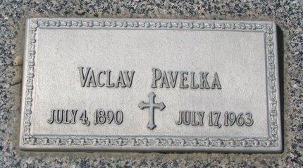 PAVELKA, VACLAV - Knox County, Nebraska | VACLAV PAVELKA - Nebraska Gravestone Photos