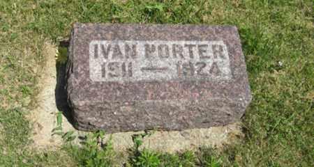 PORTER, IVAN - Knox County, Nebraska | IVAN PORTER - Nebraska Gravestone Photos