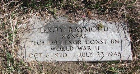 RAYMOND, LEROY - Knox County, Nebraska   LEROY RAYMOND - Nebraska Gravestone Photos