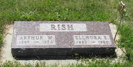 RISH, ARTHUR W. - Knox County, Nebraska | ARTHUR W. RISH - Nebraska Gravestone Photos
