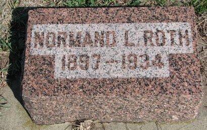ROTH, NORMAND L. - Knox County, Nebraska | NORMAND L. ROTH - Nebraska Gravestone Photos