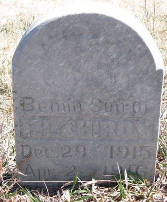 ROY, BEMIN - Knox County, Nebraska   BEMIN ROY - Nebraska Gravestone Photos