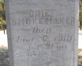 "SMOKEMAKER, ""CHIEF"" (CLOSE UP) - Knox County, Nebraska | ""CHIEF"" (CLOSE UP) SMOKEMAKER - Nebraska Gravestone Photos"
