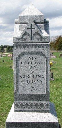 STUDENY, KAROLINA - Knox County, Nebraska | KAROLINA STUDENY - Nebraska Gravestone Photos