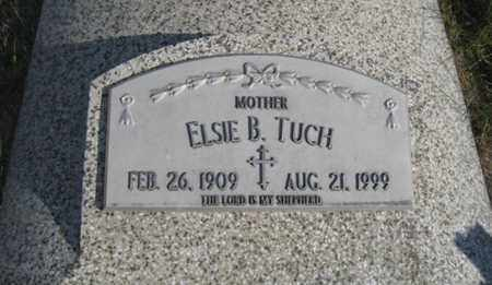 MAY TUCH, ELSIE B. - Knox County, Nebraska | ELSIE B. MAY TUCH - Nebraska Gravestone Photos