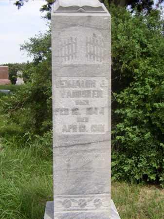 VAN BUREN, BENJAMIN J. - Knox County, Nebraska | BENJAMIN J. VAN BUREN - Nebraska Gravestone Photos
