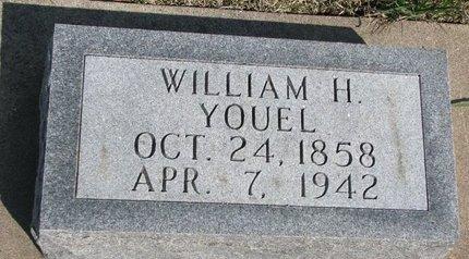 YOUEL, WILLIAM H. - Knox County, Nebraska   WILLIAM H. YOUEL - Nebraska Gravestone Photos