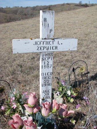 ZEPHIER, JEFFREY L. - Knox County, Nebraska   JEFFREY L. ZEPHIER - Nebraska Gravestone Photos
