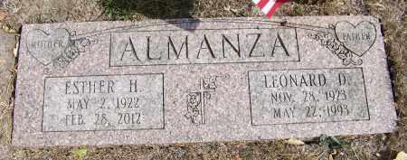 ALMANZA, ESTHER H. - Lancaster County, Nebraska | ESTHER H. ALMANZA - Nebraska Gravestone Photos