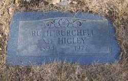 BURCHELL, RUTH - Lancaster County, Nebraska | RUTH BURCHELL - Nebraska Gravestone Photos