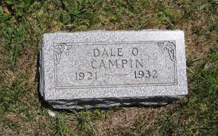 CAMPIN, DALE O - Lancaster County, Nebraska   DALE O CAMPIN - Nebraska Gravestone Photos