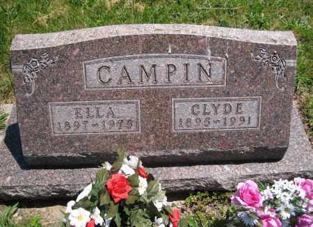 CAMPIN, CLYDE - Lancaster County, Nebraska   CLYDE CAMPIN - Nebraska Gravestone Photos