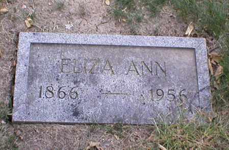 DOYLE, ELIZA ANN - Lancaster County, Nebraska | ELIZA ANN DOYLE - Nebraska Gravestone Photos