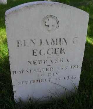 EGGER, BENJAMIN - Lancaster County, Nebraska | BENJAMIN EGGER - Nebraska Gravestone Photos