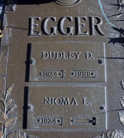 EGGER, DUDLEY - Lancaster County, Nebraska | DUDLEY EGGER - Nebraska Gravestone Photos