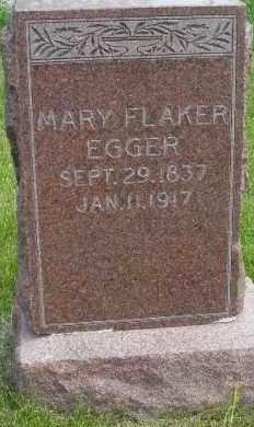 EGGER, MARY - Lancaster County, Nebraska | MARY EGGER - Nebraska Gravestone Photos