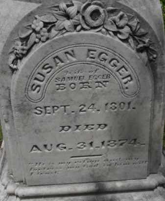 EGGER, SUSAN - Lancaster County, Nebraska | SUSAN EGGER - Nebraska Gravestone Photos