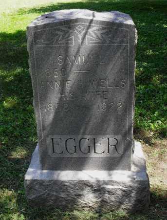EGGER, ANNIE B - Lancaster County, Nebraska | ANNIE B EGGER - Nebraska Gravestone Photos