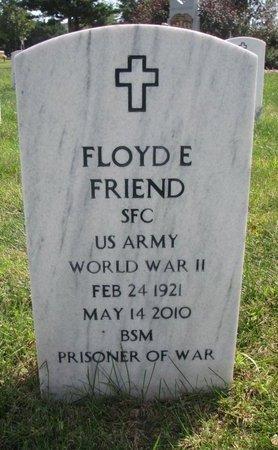 FRIEND, FLOYD E. - Lancaster County, Nebraska   FLOYD E. FRIEND - Nebraska Gravestone Photos