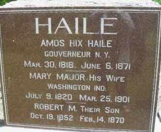 HAILE, ROBERT - Lancaster County, Nebraska | ROBERT HAILE - Nebraska Gravestone Photos