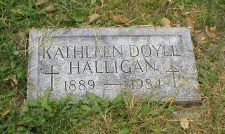 HALLIGAN, KATHLEEN - Lancaster County, Nebraska | KATHLEEN HALLIGAN - Nebraska Gravestone Photos
